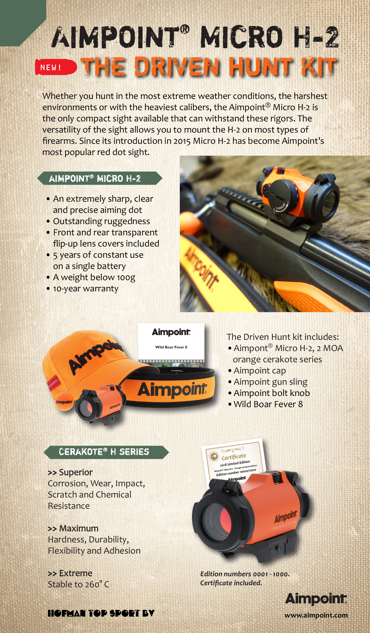 Aimpoint Driven Hunt Kit